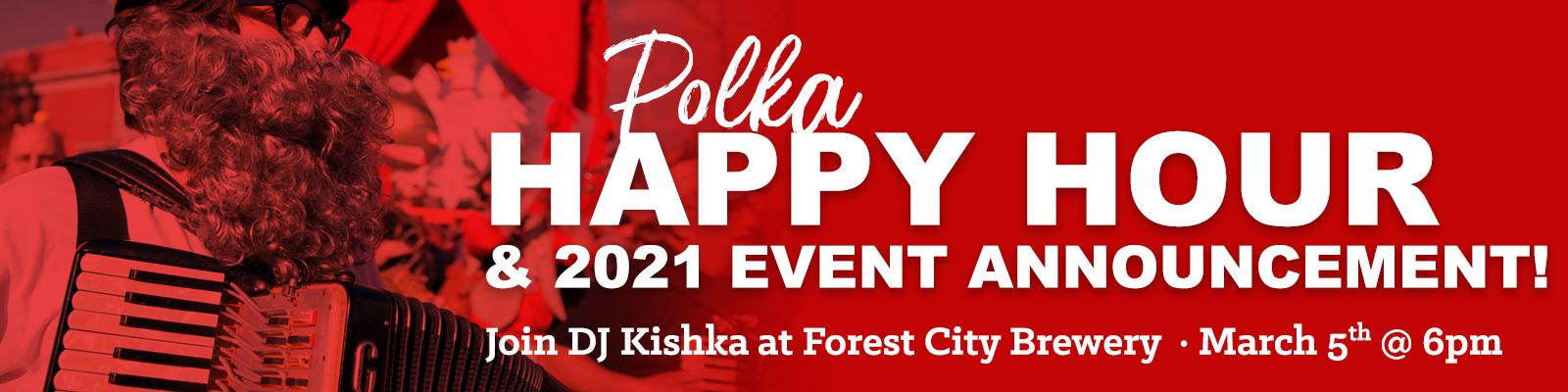 Cleveland Dyngus Day Polka Happy Hour banner