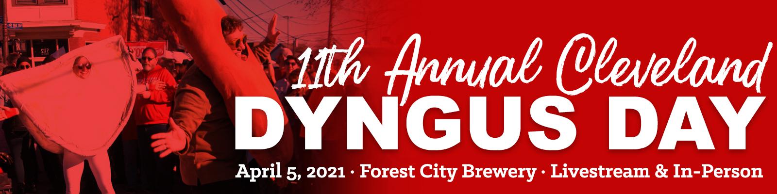2021 Cleveland Dyngus Day banner